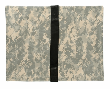 Heavy Duty Saddle Sandbag Empty 20lb Capacity Digital Camo