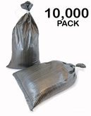 Poly Sandbag 14x26 OD Green 10,000 pk 2000 hr UV
