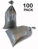 Poly Sandbag 14x26 OD Green 100 pk. 2000 hr UV