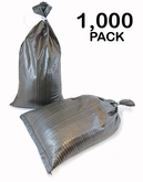 Poly Sandbag 14x26 OD Green 1000 pk. 2000 hr UV