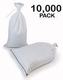 Poly Sandbag 14x26 White 10,000 pk 2000 hr UV