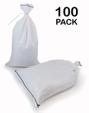 Poly Sandbag 14x26 White 100 pk. 2000 hr UV