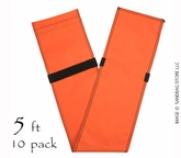 "Tube Sandbag� 60"" Orange 10 pk."