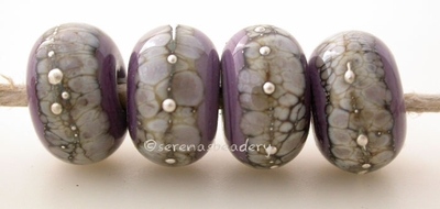 New Violet Granite with Fine Silver