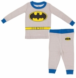 Batman Long Sleeve Infant and Toddler Boys Cotton Pajamas