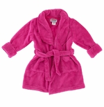 Fuchsia Toddlers and Girls Bath Robes