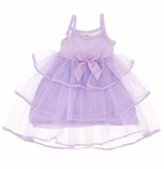 Laura Dare Fancy Lilac Girls Nightgown