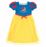 Snow White Fancy Toddler Girls Nightgown