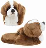 St. Bernard Dog Animal Toddler Slippers for Girls