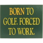 Golf Wood Signs