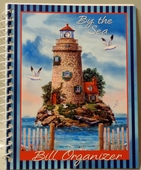 Lighthouse Bill Organizer - By the Sea