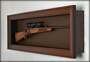 Rifle Display Case - Sportsman Edition & Rifle Display Case | Gun Display Cabinet | Wall Mounted Display Case ...