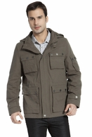BGSD Men's 'Terrain' Hooded Field Jacket in Olive