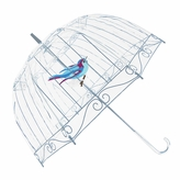 Fulton Lulu Guinness Clear Birdcage Umbrella