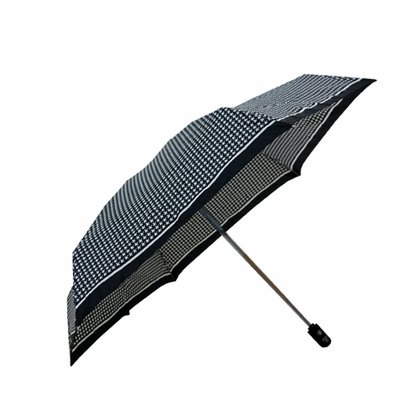 Fulton Puppytooth Flat Umbrella  - Click to enlarge