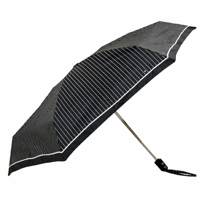 Fulton Stripes Flat Mini Umbrella  - Click to enlarge