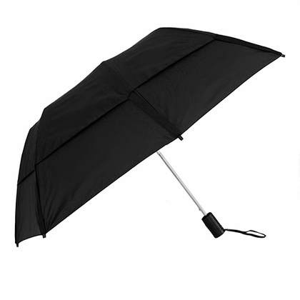 GustBuster Metro Black Collapsible Umbrella  - Click to enlarge