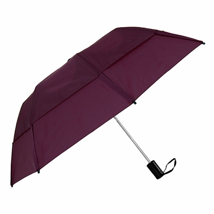 GustBuster Metro Burgundy Collapsible Umbrella  - Click to enlarge