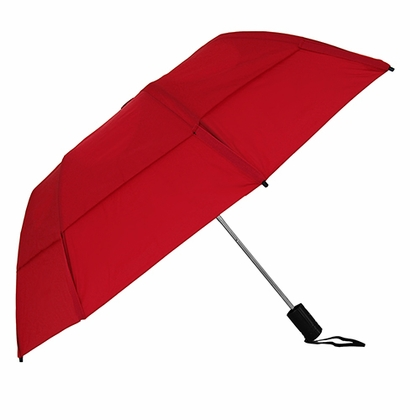 GustBuster Metro Red Collapsible Umbrella - Click to enlarge