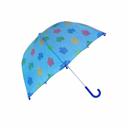 PluiePluie Robot Bubble Kid's Umbrella - Click to enlarge