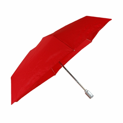 Rainkist Red Umbrella with LED Light Handle - Click to enlarge