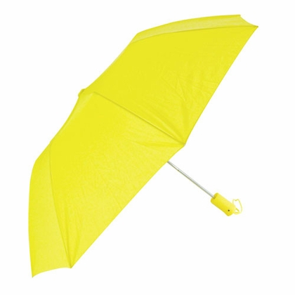 Rainkist Star Auto-Open Yellow Collapsible Umbrella - Click to enlarge