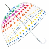 Totes Primary Dots Bubble Umbrella