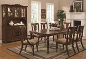 Addison Cherry Wood Dining Table Set