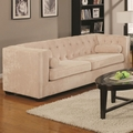 Alexis Beige Fabric Sofa
