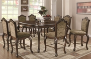 Andrea Brown Cherry Wood Pub Table Set