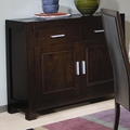 Anetta Dark Cappuccino Wood Buffet Table