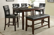 Ashton 6pc Pub Table and Chair Set