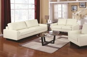 Ava Cream Sofa and Loveseat