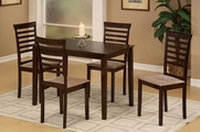 Azusa 5pc Dining Table and Chair Set