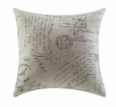 Bachman Black Fabric Accent Pillow