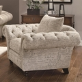 Willow Beige Fabric Chair