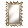 Beige Glass Mirror