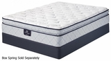 Belltower White Fabric Mattress