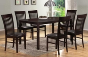 Belmont 7pc Dining Table and Chair Set