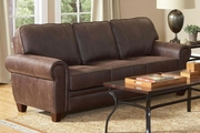 Bentley Brown Fabric Sofa