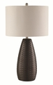 Black Fabric Table Lamp