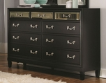 Black Glass Dresser