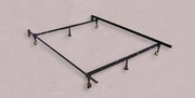Black Metal Twin or Full Size Bed Frame