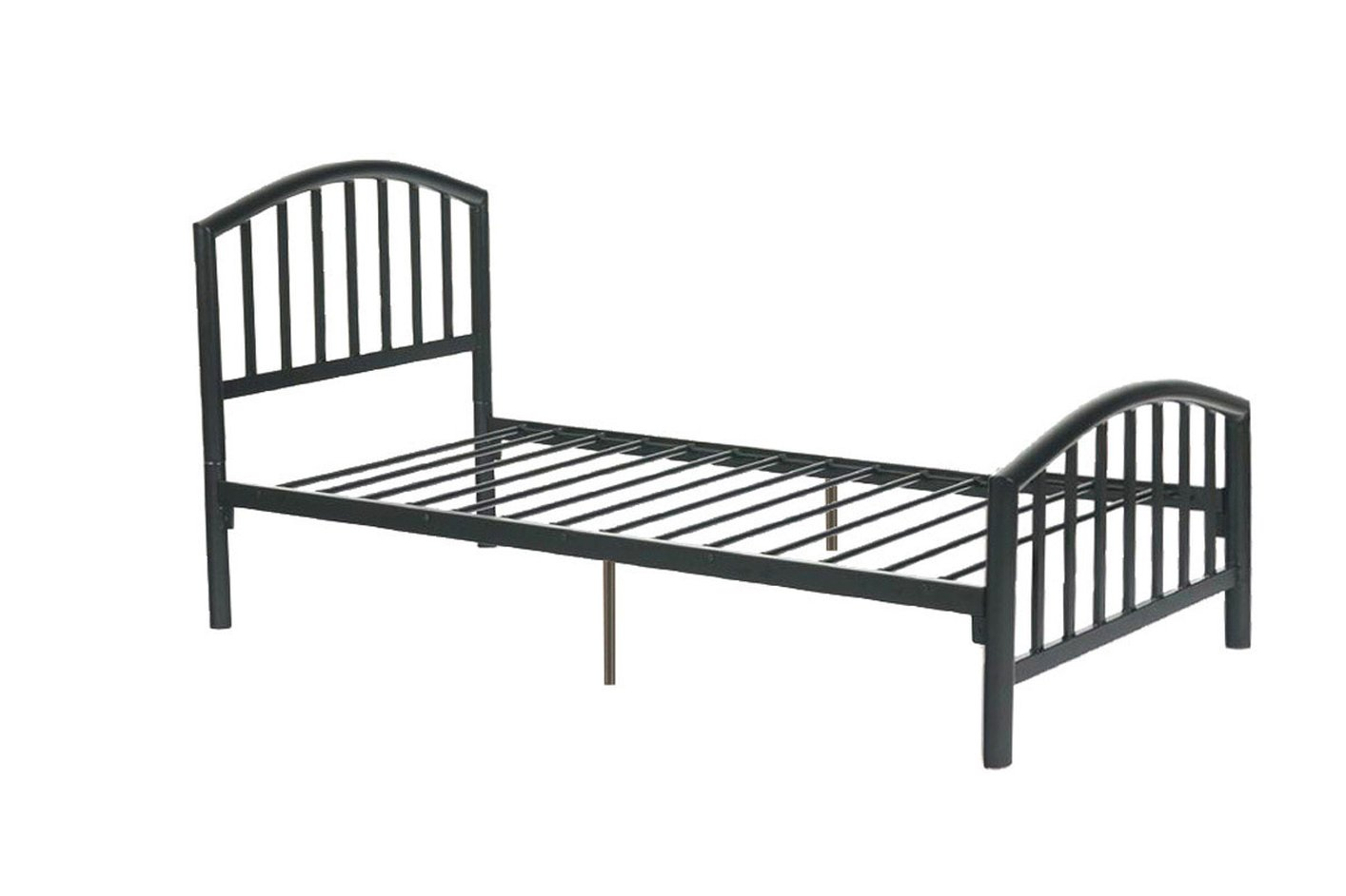 Metal Bedroom Bench Poundex F9018t Black Twin Size Metal Bed Steal A Sofa Furniture