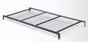 Black Metal Twin Size Bed Frame
