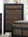 Segundo Black Wood Chest of Drawers