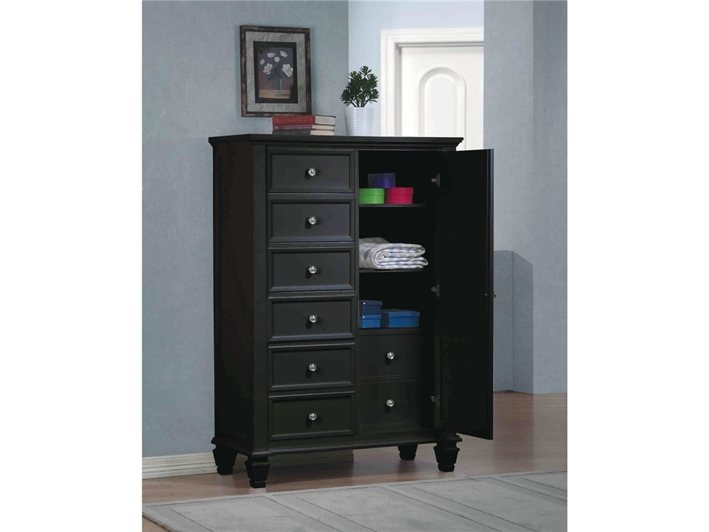 Image Result For High Gloss Black Chest Of Drawers