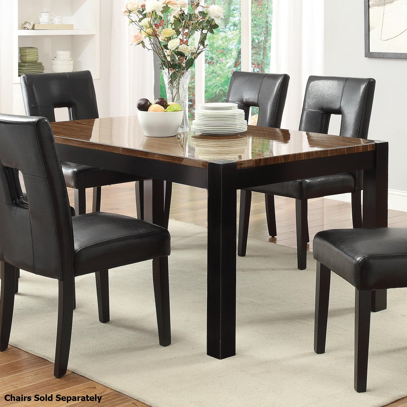 Coaster 103611 Black Wood Dining Table Steal A Sofa  : black wood dining table 447 from www.stealasofa.com size 1414 x 1414 jpeg 375kB