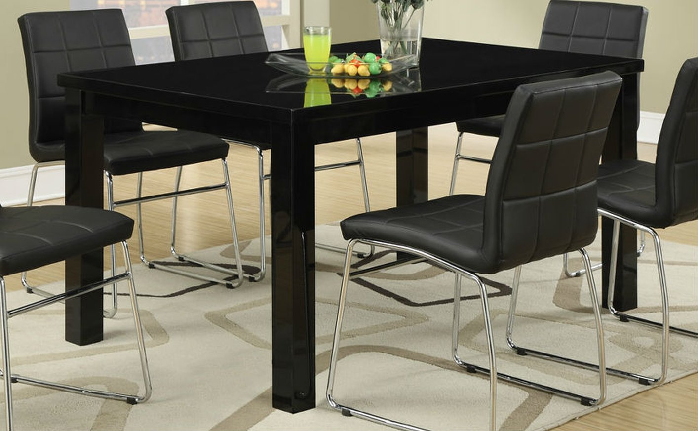 black wood dining table black wood dining room