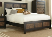 Segundo Black Wood Queen Size Bed